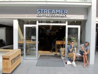 Streamer in Shibuya