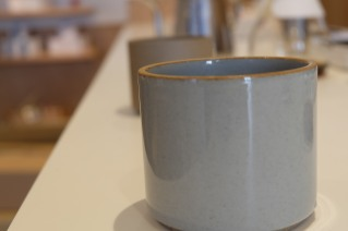 Cups from Hasami at PNB Coffee