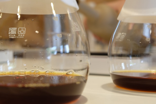 Kalita carafes at PNB Coffee