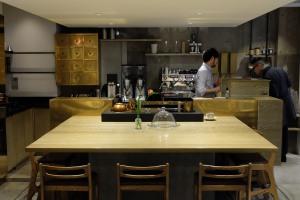 COBI Coffee interior Aoyama Tokyo Japan