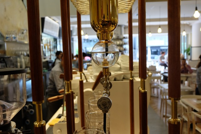 Tower Drip at Coutume Coffee Aoyama Tokyo Japan