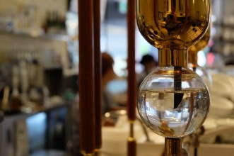 Close up of Tower Drip at Coutume Coffee Aoyama Tokyo Japan