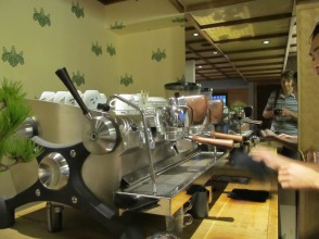 Slayer at Cafe Kitsune