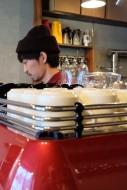 Owner of Woodberry Coffee Roasters in Yoga Tokyo Japan