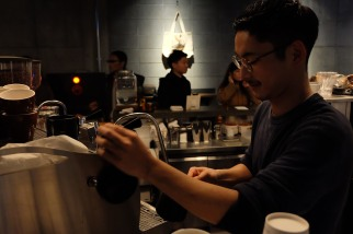 Profile of Barista at The Roastery by Nozy Coffee in Shibuya Tokyo Japan