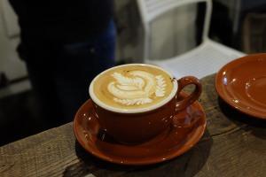 Amazing Latte Art at Life Size Cribe in Kokubunji