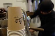 Paper Coffee Cups at Life Size Cribe in Kokubunji