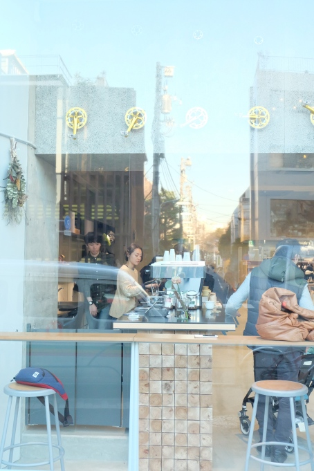 Cafe Ratio Coffee and Cycle Jingumae Barista