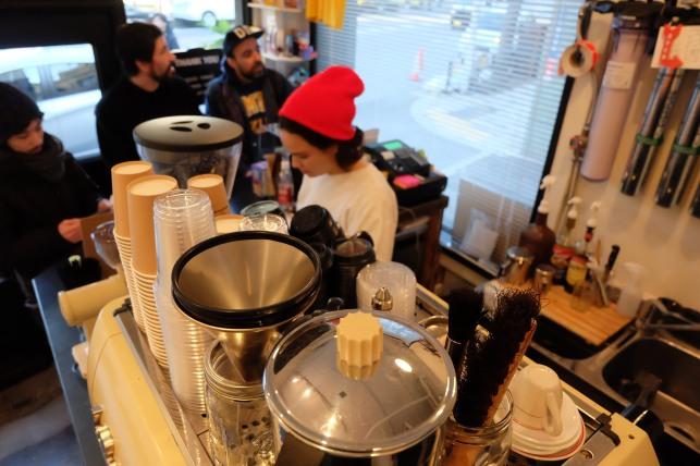 Talk and Come Again Cafe harajuku Jigumae Coffee