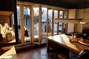 Interior Deus ex Machina Cafe Harajuku Tokyo Japan