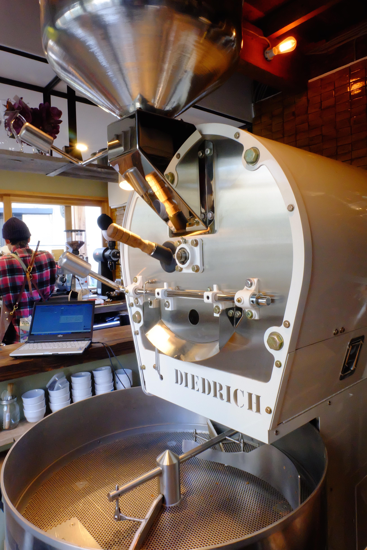 Diedrich Roaster Onibus Coffee Nakameguro Tokyo Japan Cafe