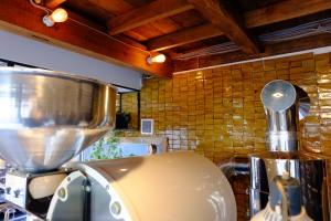 Roasting space at Onibus Coffee Nakameguro Tokyo Japan Cafe