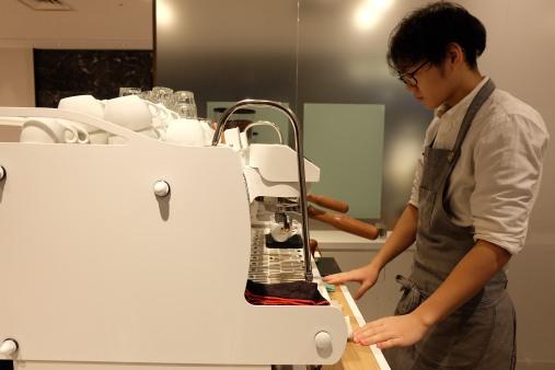 Espresso Machine Coutume Futakotamagawa Barista Tokyo Japan Cafe Coffee