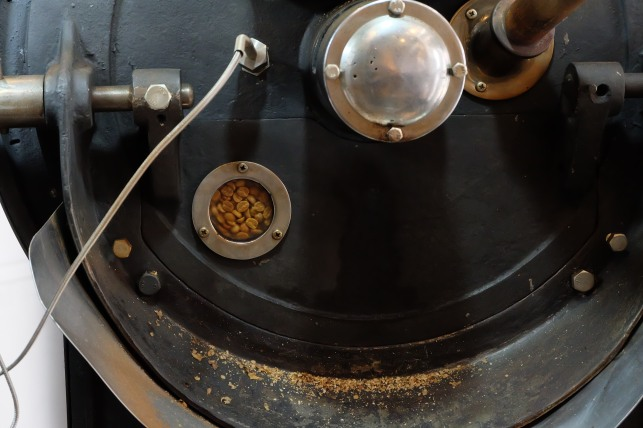 Coffee Roasting at Obscura Factory Tokyo Japan Coffee