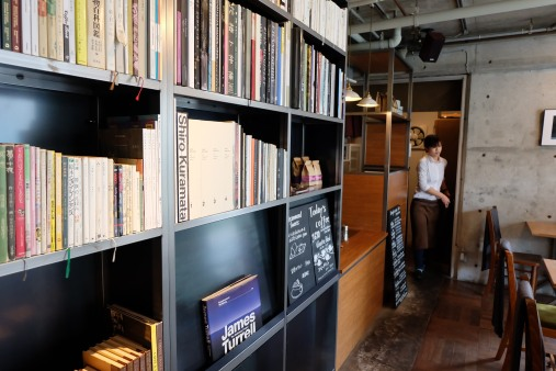 Art Books at Cafe Obscura Tokyo Japan Coffee