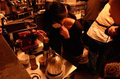 Hitomi Higurashi Japan AeroPress Championships 2016 at The Roastery by Nozy Coffee Tokyo