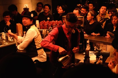 Takeshi Kondoh Japan AeroPress Championships 2016 at The Roastery by Nozy Coffee Tokyo