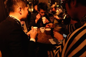 Judges of Japan AeroPress Championships 2016 at The Roastery by Nozy Coffee Tokyo