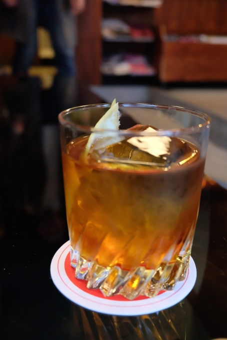 Negroni Cocktail at Fuglen Coffee Tokyo Shibuya Japan Cafe