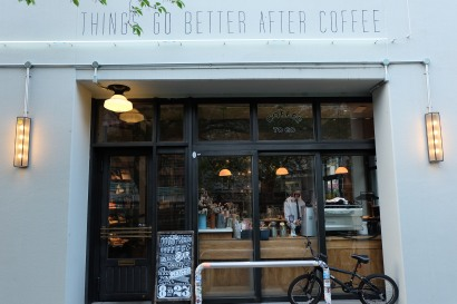 Things Go Better After Coffee The Workers Coffee and Bar Meguro Tokyo Cafe