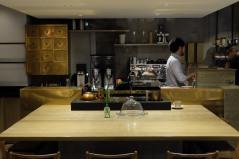 Interior of Cobi Coffee in Aoyama Tokyo Japan