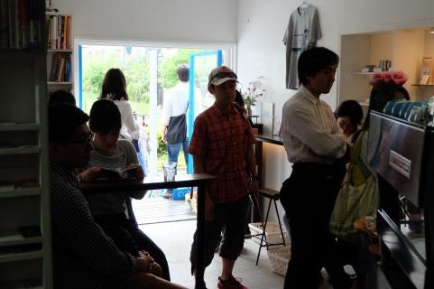 Cafe Scene at Light Up Coffee Kichijoji Tokyo Japan Cafe