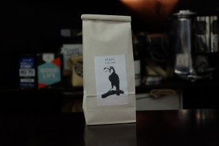Paper Coffee Bag at Light Up Coffee Kichijoji Tokyo Japan Cafe