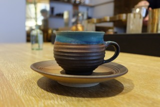 Cup and Saucer at Cobi Coffee in Aoyama Tokyo Japan