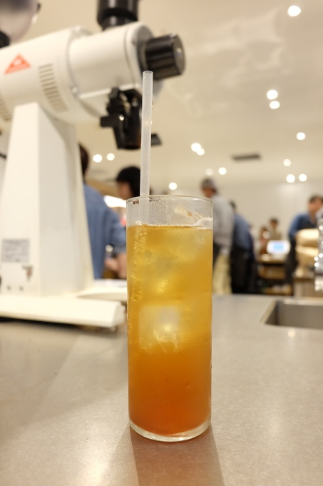 Signature Drink at Blue Bottle Coffee Shinjuku Japan Tokyo