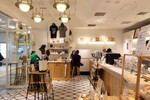 Inside Verve Coffee Roasters Shinjuku Tokyo Japan