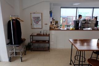 Inside of 4/4 (All) Seasons Coffee Shinjuku Tokyo Japan