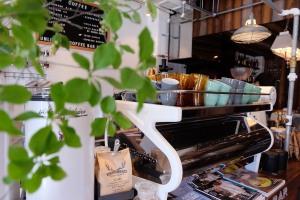 La Marzocco Strada Espresso Machine at Unlimited Coffee Bar in Narihira Tokyo Japan