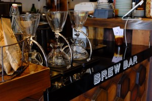 Coffee Brewers at Unlimited Coffee Bar in Narihira Tokyo Japan