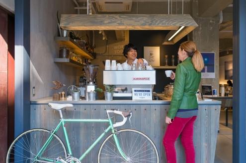 iki Espresso Tokyo Kim & Teru by espresso machine