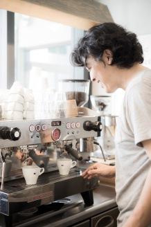 iki Espresso Tokyo Teru Harase by espresso machine