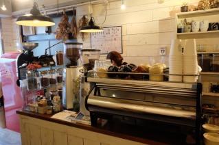 La Marzocco at Onibus Coffee Okusawa Tokyo Japan
