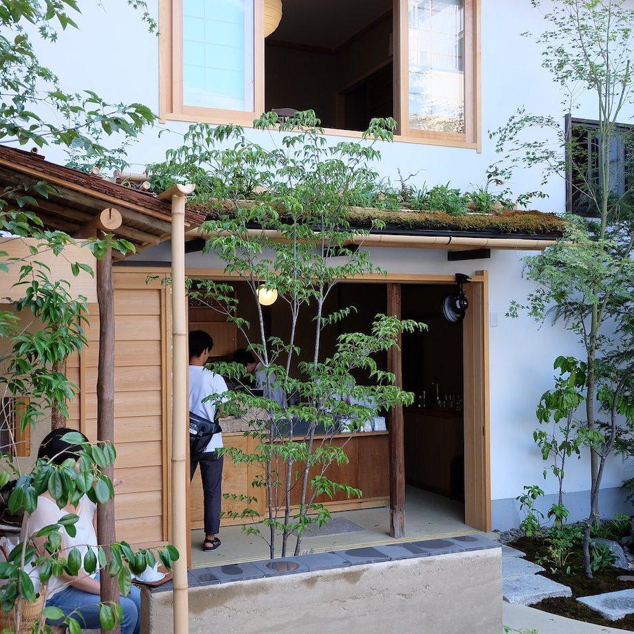 Traditional Japanese Architecture at Weekenders Coffee Kyoto Tominokoji